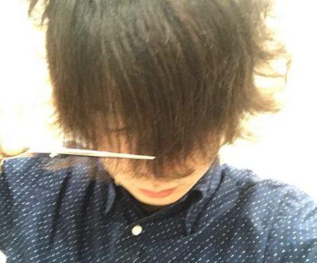 『前髪を幅ってどこまでですか?』