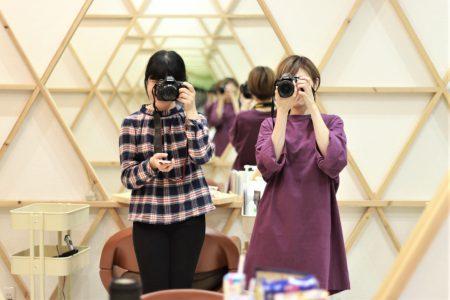 『一眼レフカメラ&instagramデビューと入店しました』