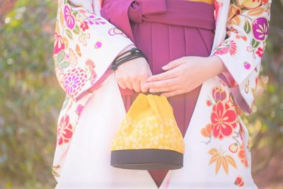 『長岡市の学校で卒業式で着物を着る予定の方へ』